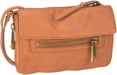 Marc O'Polo Six Trio Bag L Washed - Cognac