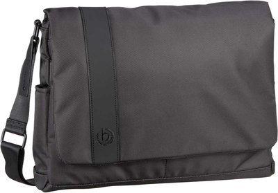 Bugatti Notebooktasche / Tablet Domani Messenger Bag Anthrazit