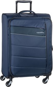 travelite Kite 4w Trolley M exp - Marine