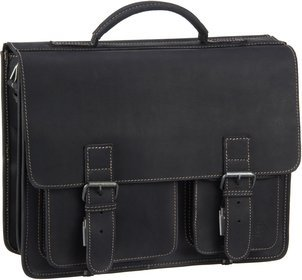 Greenburry Buffalo 1028 Mappe XXL - Dull Black