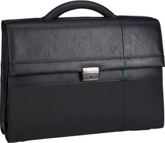 "Samsonite Formalite Briefcase 2 Gussets 15.6"" - Black"