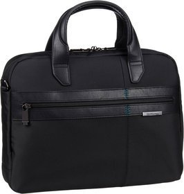 "Samsonite Formalite Bailhandle 14.1"" - Black"