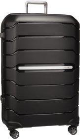 Samsonite Trolley + Koffer Flux Spinner 75 Expandable Black (108 Liter)