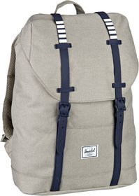 Herschel Retreat Mid-Volume - Light Khaki Crosshatch