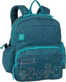 Lässig Rucksack / Daypack About Friends Medium Backpack Mélange Blue