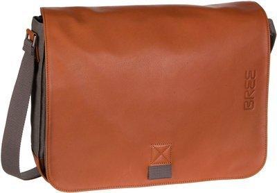 Bree Notebooktasche / Tablet Punch Casual 49 Grey/Cognac