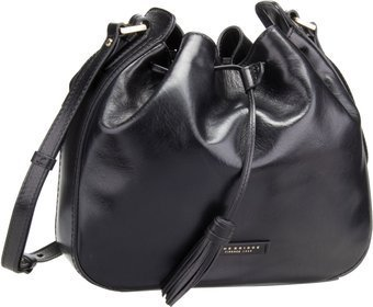 The Bridge Florentin Beuteltasche 3427 - Nero/Oro Vintage