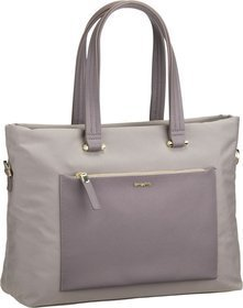 Samsonite Handtasche Zalia Shopping Bag 15.6'' Beige (13 Liter)