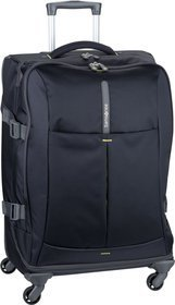 Samsonite Trolley + Koffer 4Mation Spinner Duffle 67 Midnight Blue/Yellow (82.5 Liter)