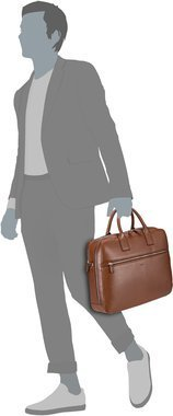 Picard Milano Businessbag - Cognac