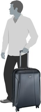travelite Elbe Two 4-Rad Trolley M+ - Anthrazit