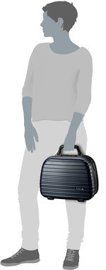 Rimowa Salsa Beauty Case 13L - Mattblau