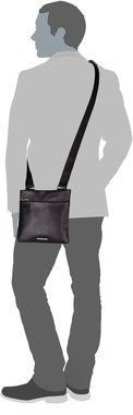 Porsche Design CL2 2.0 ShoulderBag XSVZ - Black