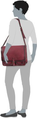 Greenburry Buffalo 1003 Posttasche XL - Burnish Red