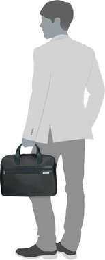 "Samsonite Formalite Bailhandle 15.6"" - Grey"