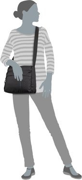 Mandarina Duck MD20 Crossover Bag QMTT4 - Black