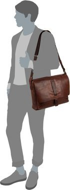 Joop Loreto Kimon Messenger MHF - Dark Brown