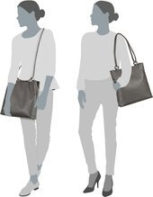 Offermann Bucket Bag L - Tender Stone Grey