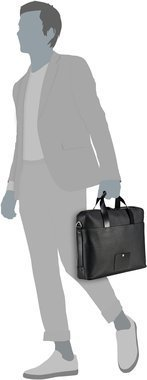 Porsche Design Voyager 2.0 BriefBag SHZ - Black