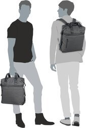 Porsche Design Cargon CP BackPack LVZ 1 - Dark Grey