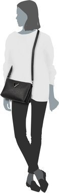 Guess Jade Crossbody Top Zip - Black
