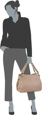 Liu Jo Barona Shoulder Bag M - Arenaria