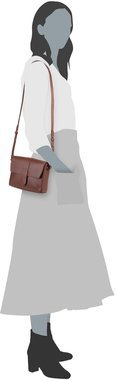 Sandqvist Berit Small Shoulder Bag - Cognac Brown