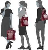 Jost Boda 6624 X-Change Bag XS - Rot